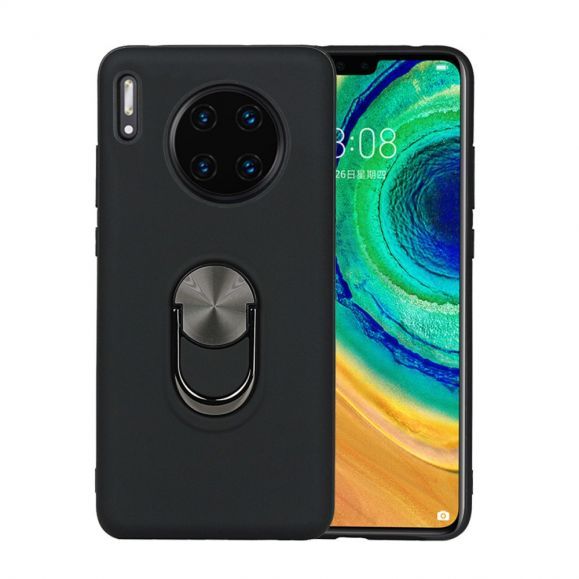 Coque Huawei Mate 30 Pro effet mat avec support au dos