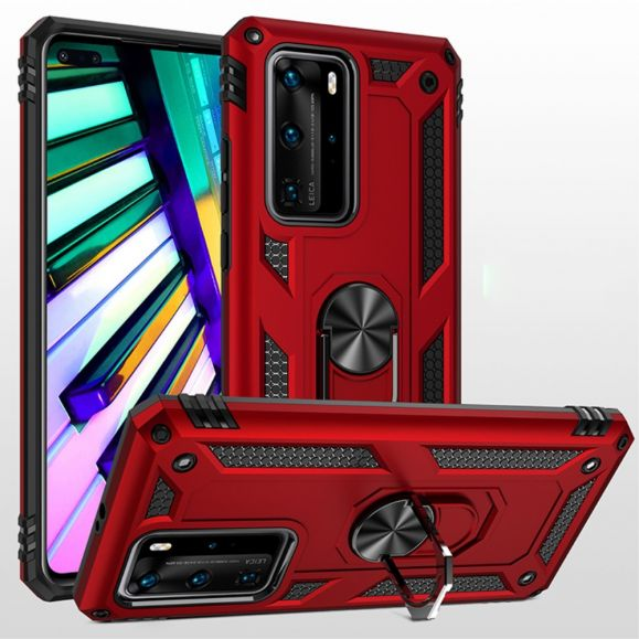 Coque Huawei P40 Pro Hybride Fonction Support