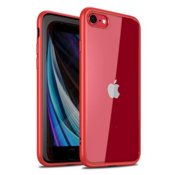 coque iphone se 2 8 7 hybride contour silicone