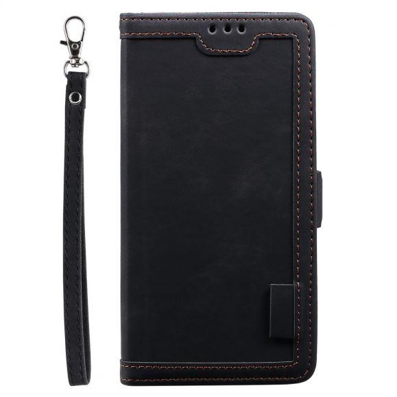Housse portefeuille iPhone SE 2 / 8 / 7 Vintage Pocket