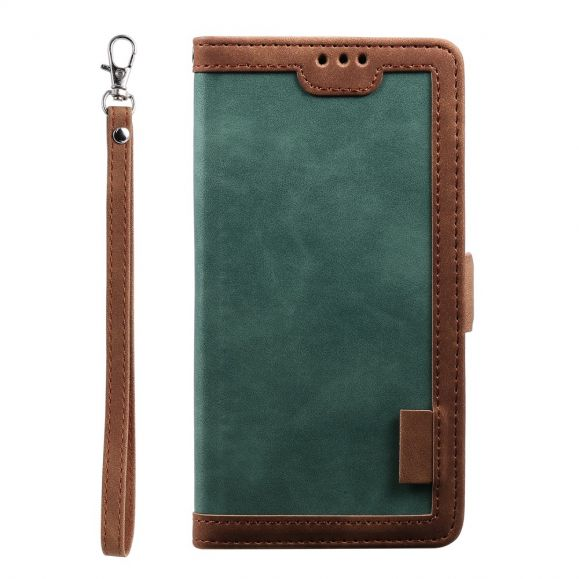 Housse portefeuille iPhone SE 2 / 8 / 7 Vintage Pocket