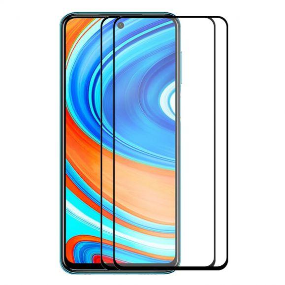 Films Xiaomi Redmi Note 9 Pro en verre trempé (2 pièces)