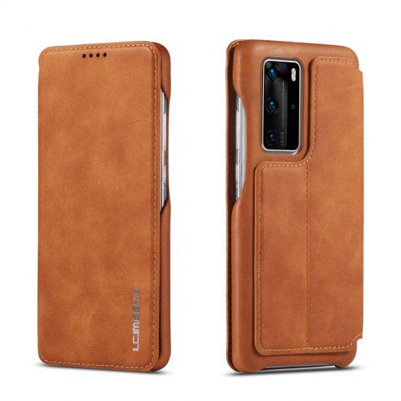 Housse avec rabat simili cuir pour Huawei P40 Pro