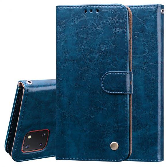 Étui Samsung Galaxy Note 10 Lite DeLuxe Vintage
