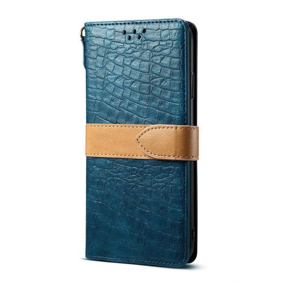 Étui Samsung Galaxy S10 Plus imitation croco