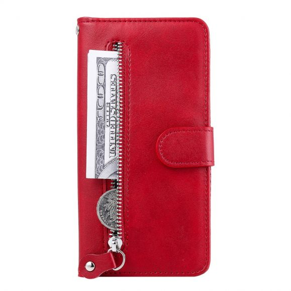 Housse Xiaomi Redmi Note 9 Pro / Redmi Note 9S Zipper Pocket