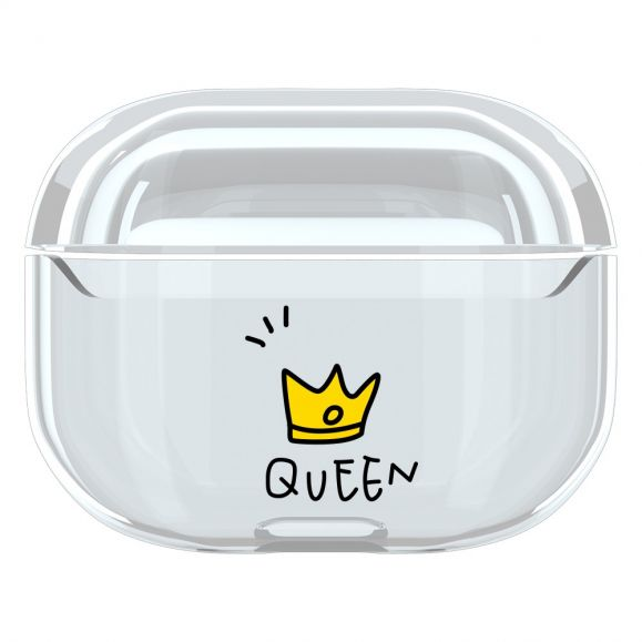Coque AirPods Pro Transparente Queen