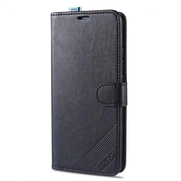 Housse Xiaomi Poco F2 Pro AZNS Retro Effet Cuir
