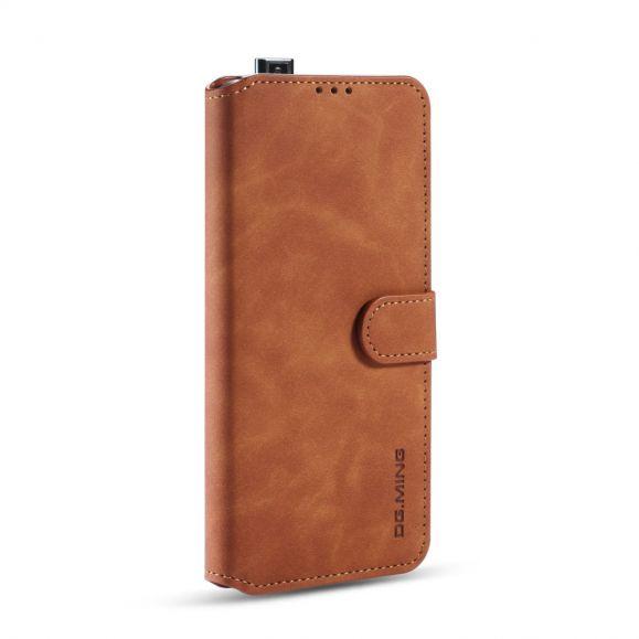 Housse Xiaomi Poco F2 Pro DG MING effet cuir