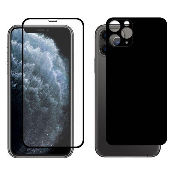 Protections en verre trempé avant et arrière pour iPhone 11 Pro