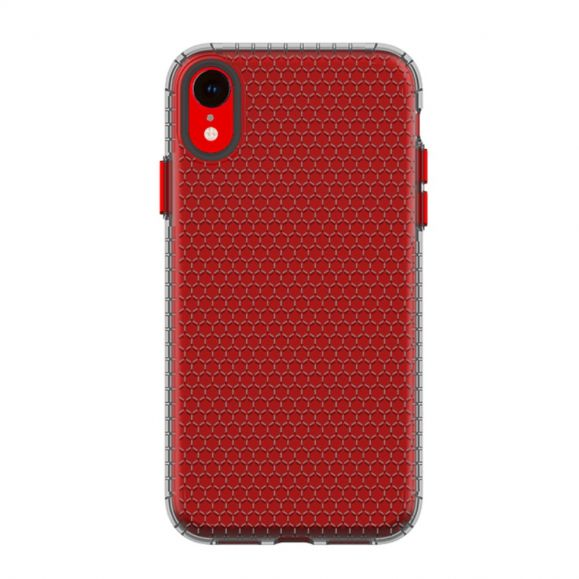 Coque iPhone XR Honeycomb Transparente