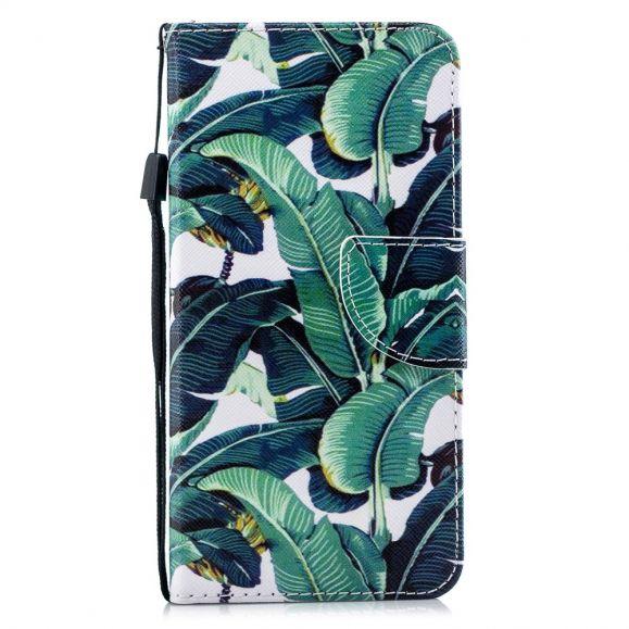 Housse Samsung Galaxy S20 Plus Feuilles de Bananier