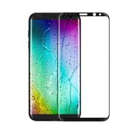 Protection Ecran Verre Trempé Incurvée pour Samsung Galaxy S8 - Noir