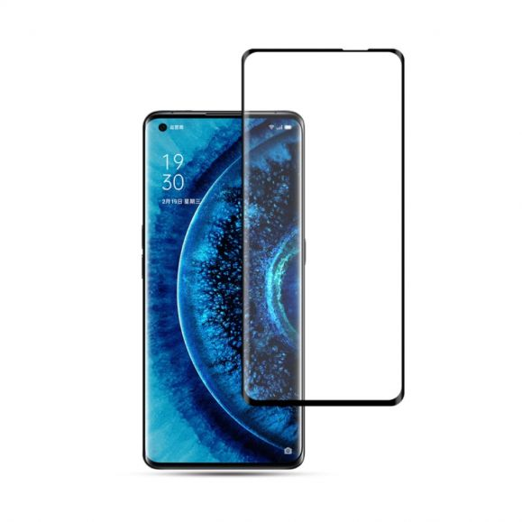 Protection d'écran Oppo Find X2 Pro en verre trempé full size