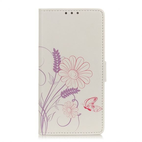 Housse Oppo Find X2 Pro Flower Butterfly