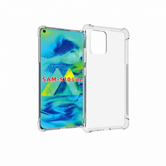 Coque Samsung Galaxy S10 Lite transparente angles renforcés