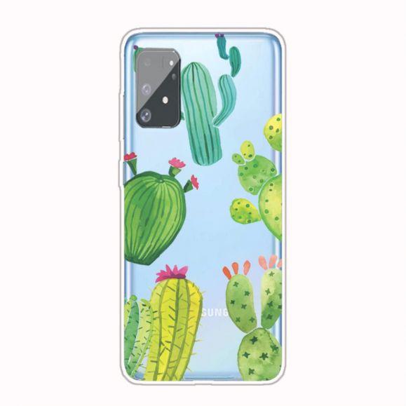 Coque Samsung Galaxy S10 Lite Transparente Cactus
