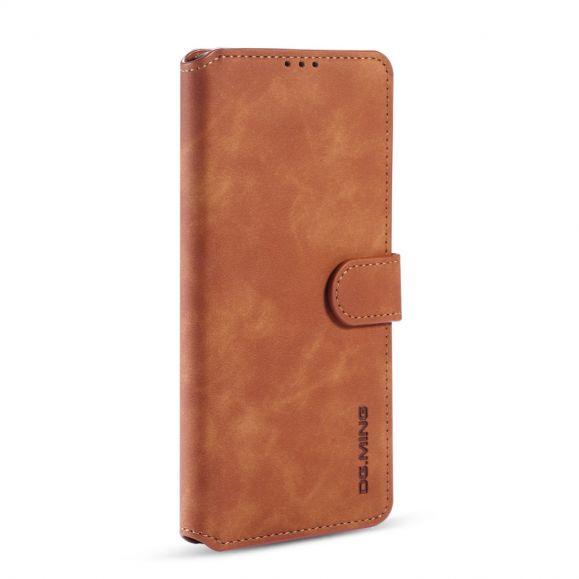 Housse Samsung Galaxy S10 Lite DG MING effet cuir