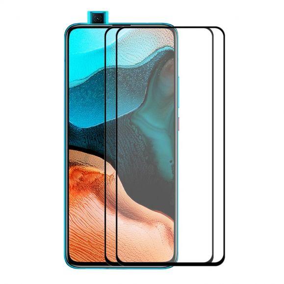 Pack de 2 films en verre trempé full size pour Xiaomi Poco F2 Pro