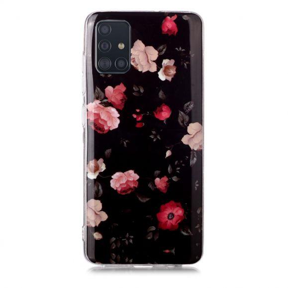 Coque Samsung Galaxy A71 Luminous Fleurs