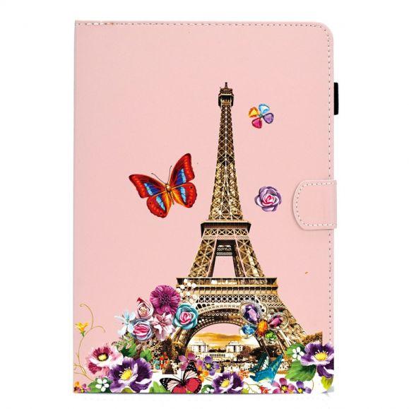 Housse Samsung Galaxy Tab S6 Lite Tour Eiffel Printemps