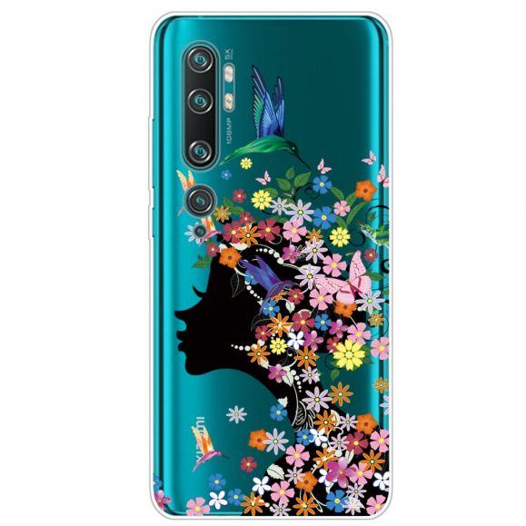 Coque Xiaomi Mi Note 10 Colibri Fleur