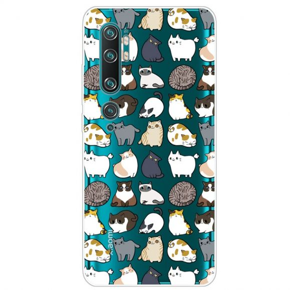 Coque Xiaomi Mi Note 10 Multiples Chats