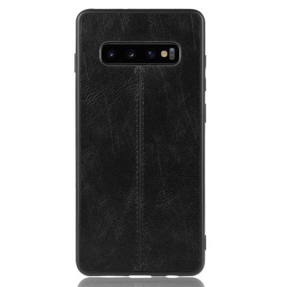 Coque Samsung Galaxy S10 Plus Effet Cuir