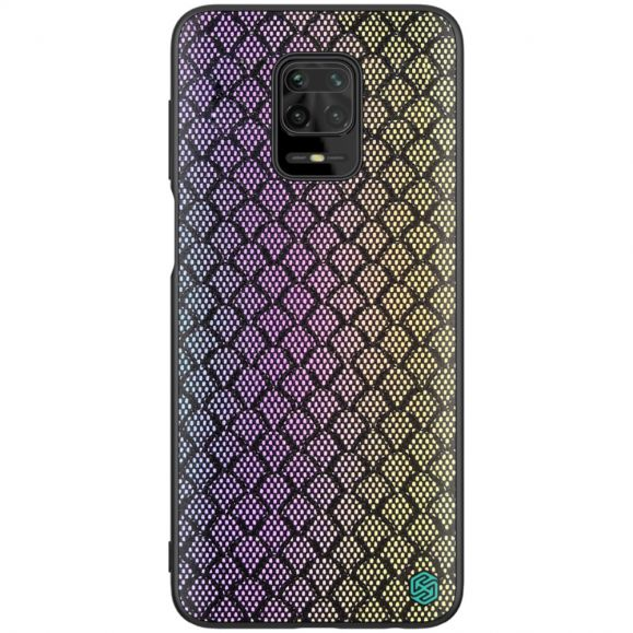 Coque Xiaomi Redmi Note 9S / Redmi Note 9 Pro Shiny Series - Violet / Or