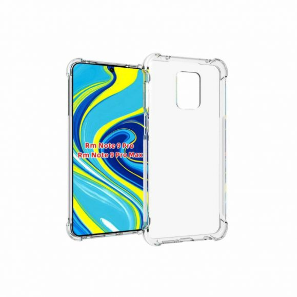 Coque Xiaomi Redmi Note 9S / Redmi Note 9 Pro transparente angles renforcés