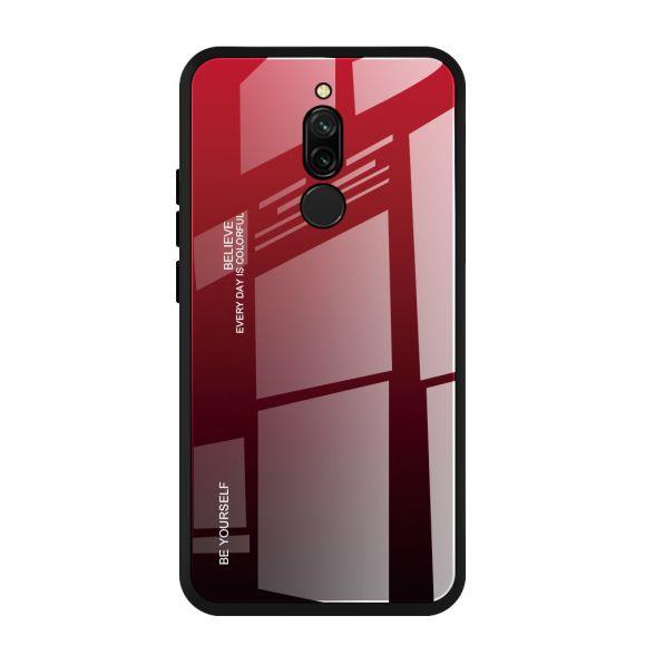 Coque Xiaomi Redmi 8 dégradé de couleurs