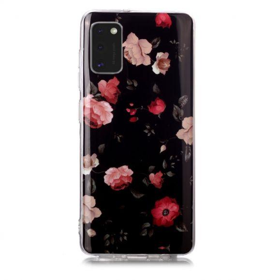 Coque Samsung Galaxy A41 Luminous Fleurs