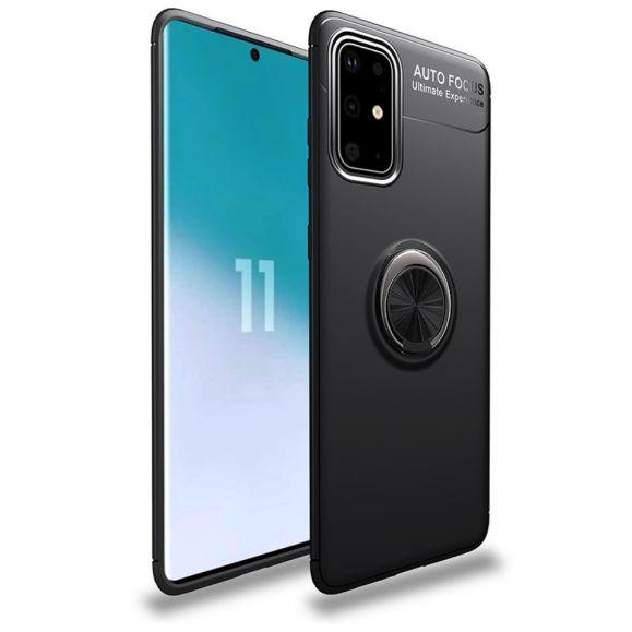 Coque Samsung Galaxy A41 avec bague métallique rotative