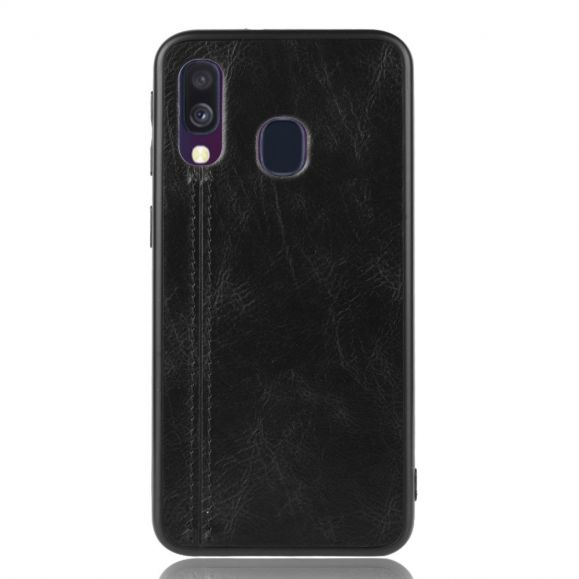 Coque Samsung Galaxy A40 Effet Cuir
