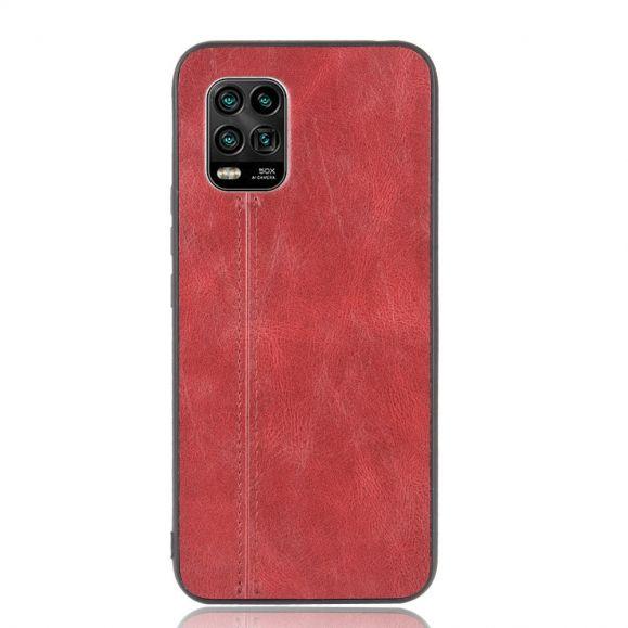 Coque Xiaomi Mi 10 Lite Effet Cuir Coutures