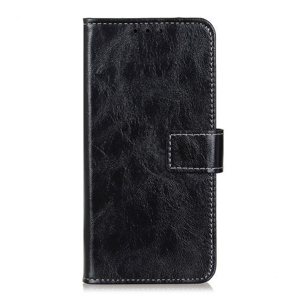 Étui Xiaomi Mi Note 10 Lite effet cuir luxueux coutures