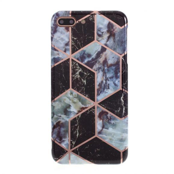 Coque iPhone 7 Plus / 8 Plus Marbre Géométrique