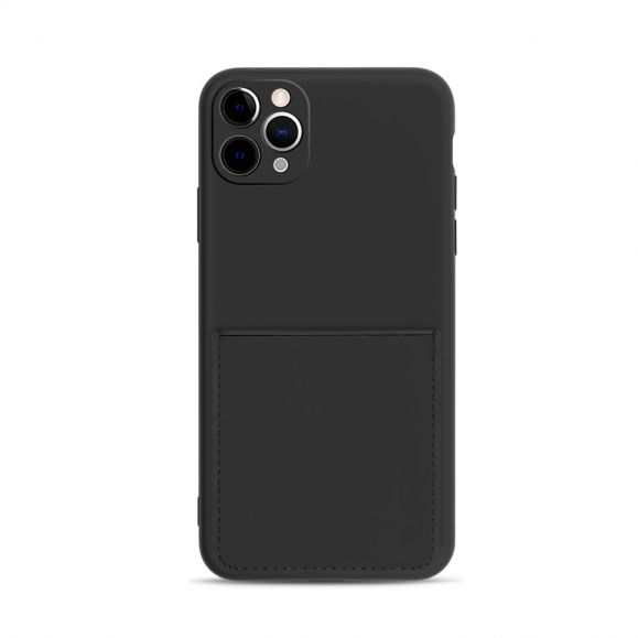 Coque iPhone 11 Pro Max Mia silicone porte carte