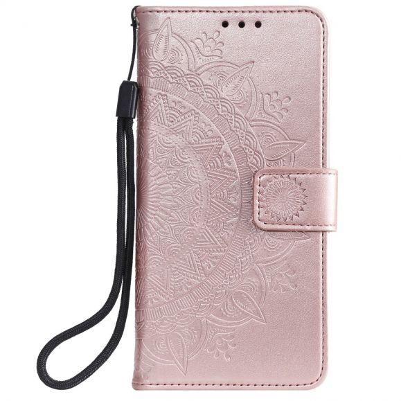 Housse Xiaomi Mi 10 Mandala Soleil Relief