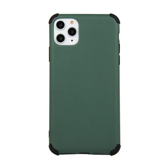 Coque iPhone 11 Pro effet mat avec angles renforcés - Vert