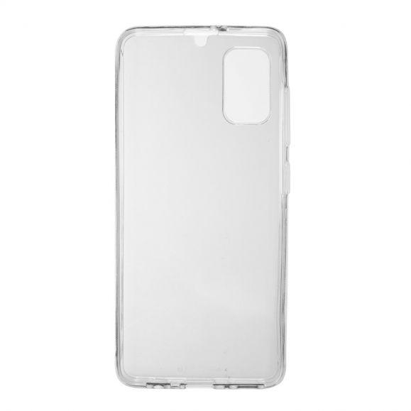 Coque Samsung Galaxy A41 transparente intégrale (2 pièces)