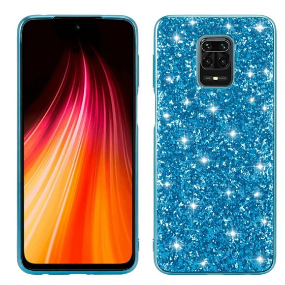 Coque Xiaomi Redmi Note 9 Pro / Redmi Note 9S Paillettes Strass Glamour