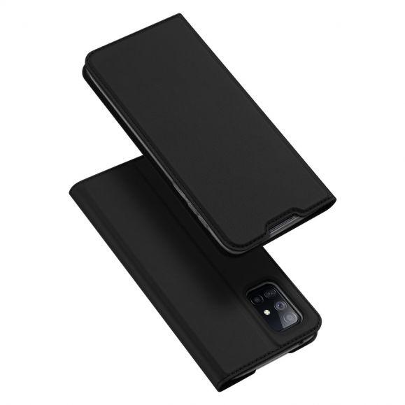 Housse Samsung Galaxy A51 5G Business Effet Satiné