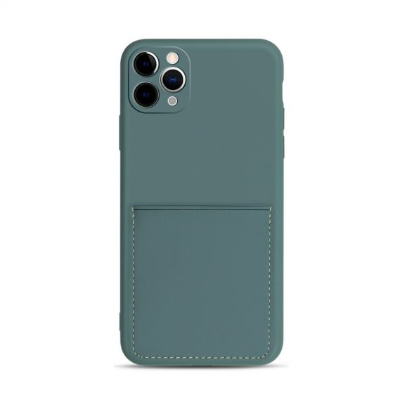 Coque iPhone 11 Pro Mia en silicone porte carte