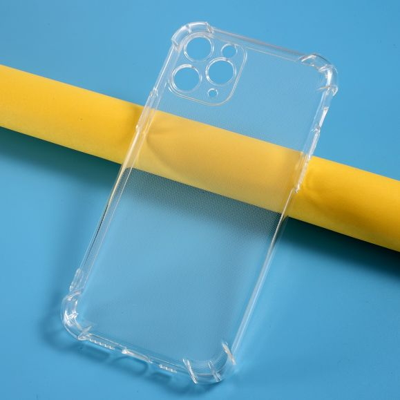 Coque iPhone 11 Pro transparente angles renforcés