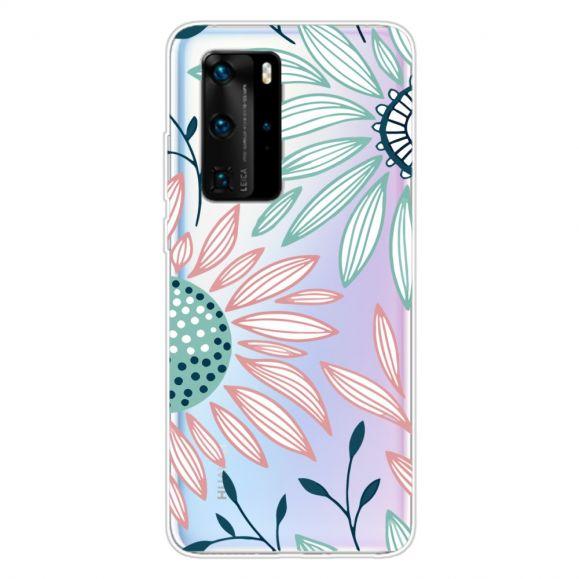 Coque Huawei P40 Pro Daisy fleurs