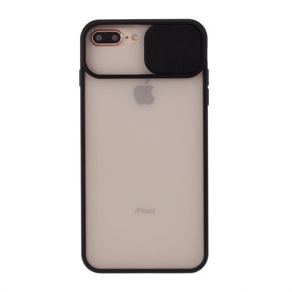 Coque iPhone 8 Plus / 7 Plus transparente avec cache objectif arrière