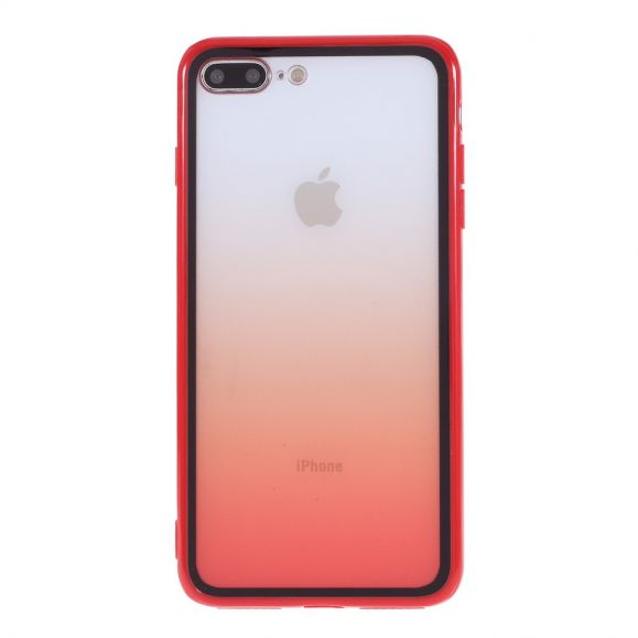 Coque iPhone 8 Plus / 7 Plus Transparente Dégradée
