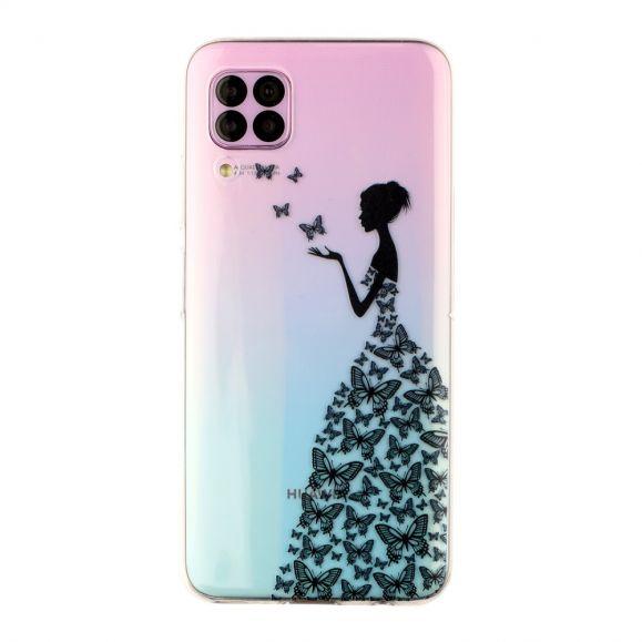 Coque Huawei P40 Lite transparente motif fairy