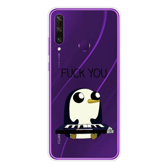 "Coque Huawei Y6p Pingouin Piano ""FUCK YOU"""